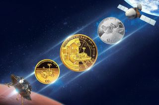The People's Bank of China is issuing three commemorative coins to celebrate the success of Tianwen-1, the country's first mission to orbit and land on Mars.