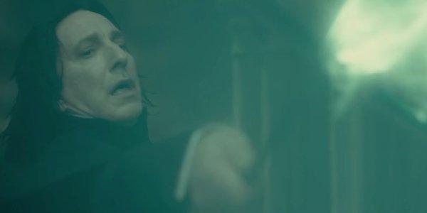 Severus Snape Harry Potter, Ron, dan Hermione dari Profesor Lupin