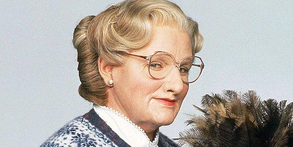 Robin Williams is Mrs. Doubtfire