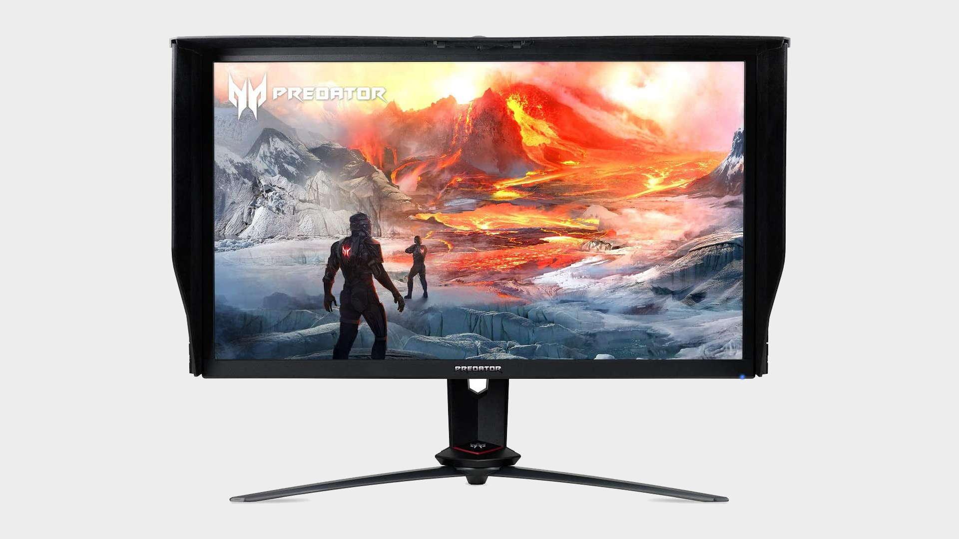 Acer Predator XB273K high refresh rate gaming monitor