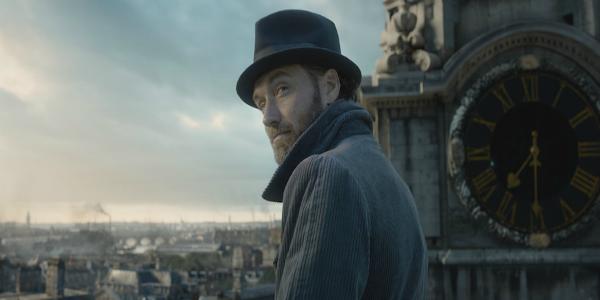 Jude Law as Professor Dumbledore  in Fantastic Beasts 2 trailer