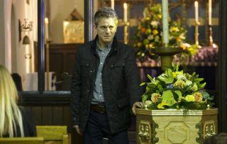Cal's funeral