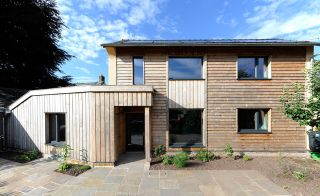 Contemporary self build with triple glazing