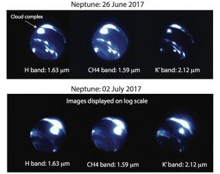 Neptune's storm