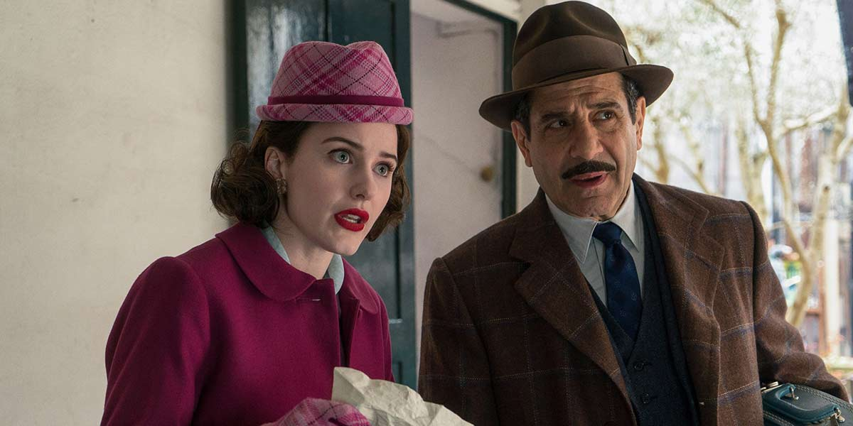 Abe and Midge 1950s fashion in Maisel screenshot
