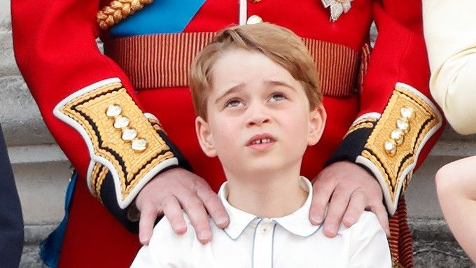 Prince George at the Trooping the Colour