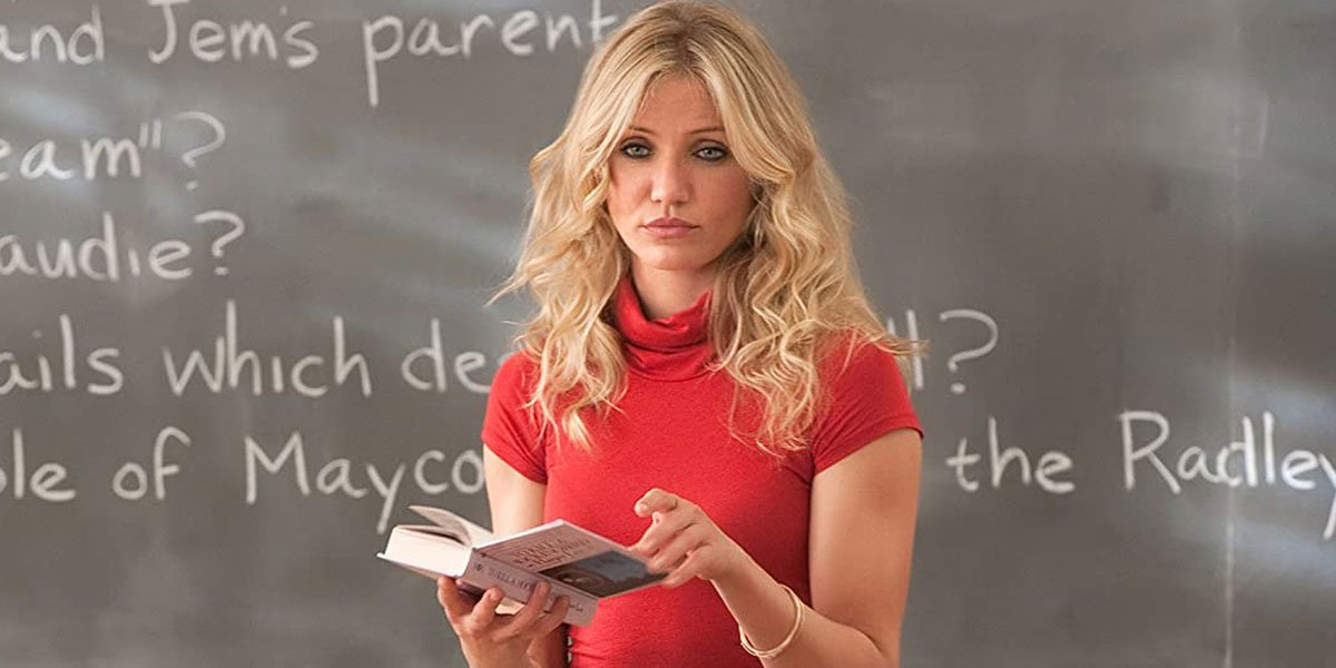 Cameron Diaz in her 30s in Bad Teacher 2011