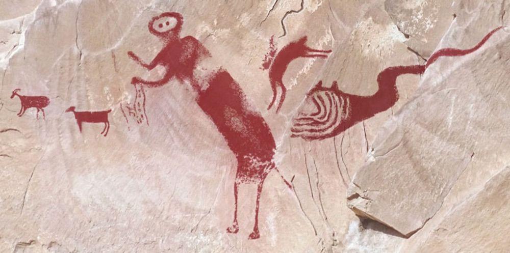 'Winged Monster' Rock Art Finally Deciphered