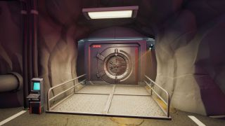 Enter the Vault in Doom's Domain in Fortnite