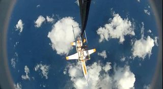 Airbus Defence and Space's SpacePlane Demonstrator in South China Sea