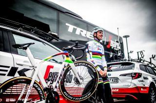 Mads Pedersen's World Champion Trek Madone