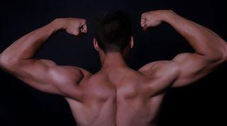 flex, muscles, strong