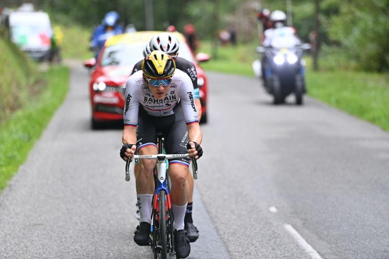 Matej Mohoric on stage 18 of the 2021 Tour de France