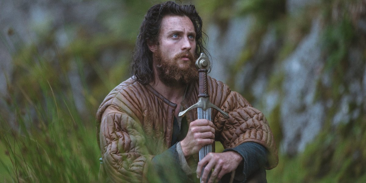Aaron Taylor-Johnson in Outlaw King