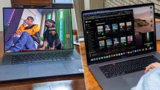 Dell XPS 17 vs. MacBook Pro