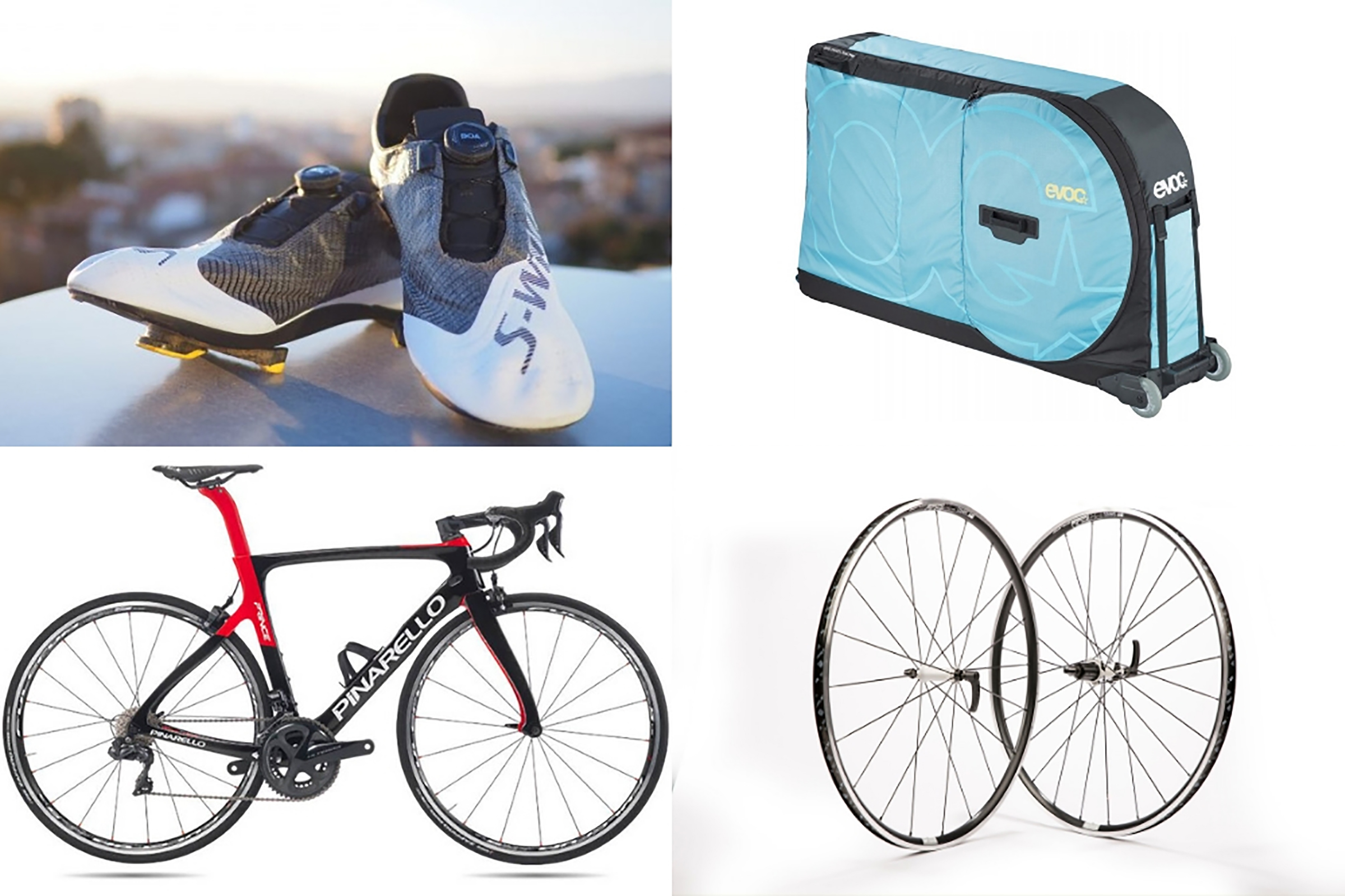 9684e632e0c March's Tech of the Month: Pinarello, new Specialized shoes, DT Swiss  wheels and Evoc's bike bag 27:06
