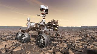 Mars 2020 Rover Art