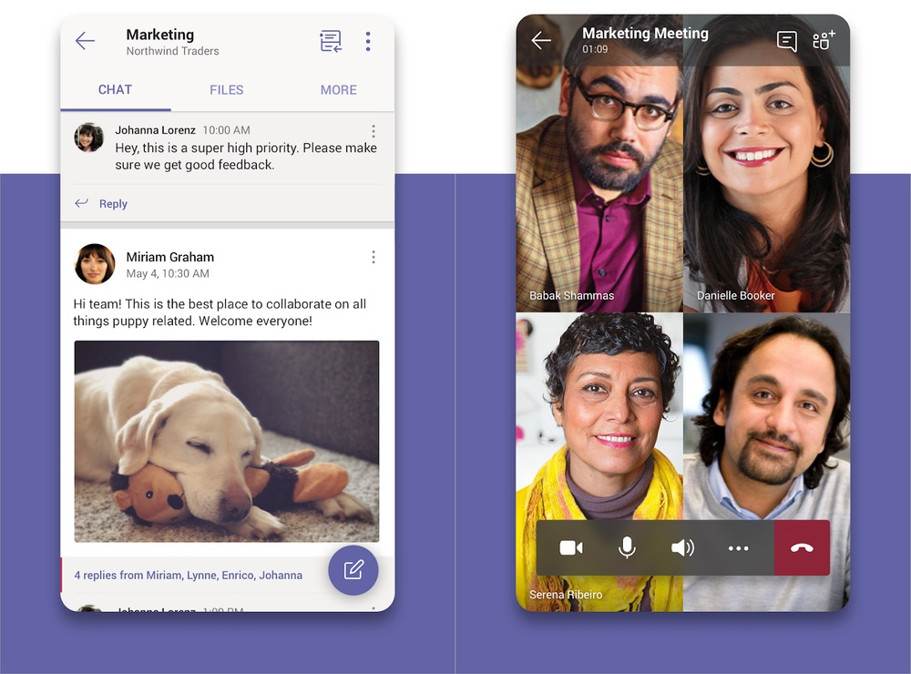 best chat apps: microsoft teams