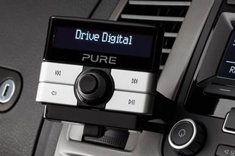 pure drive digital is in car dab adapter for vw group cars. Black Bedroom Furniture Sets. Home Design Ideas