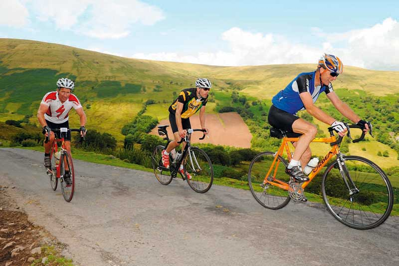 tour of the black mountains, cyclo sportive, british sportive, cycling event