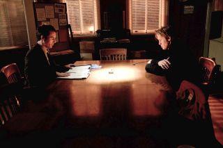 Eric McCormack as Joe Sullivan (left) and Matt Barr as Chris Porco star in the Lifetime Original Movie 'Romeo Killer: The Chris Porco Story'.