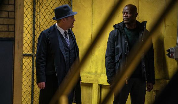 The Blacklist Raymond Red Reddington James Spader Hisham Tawfiq Dembe Zuma NBC