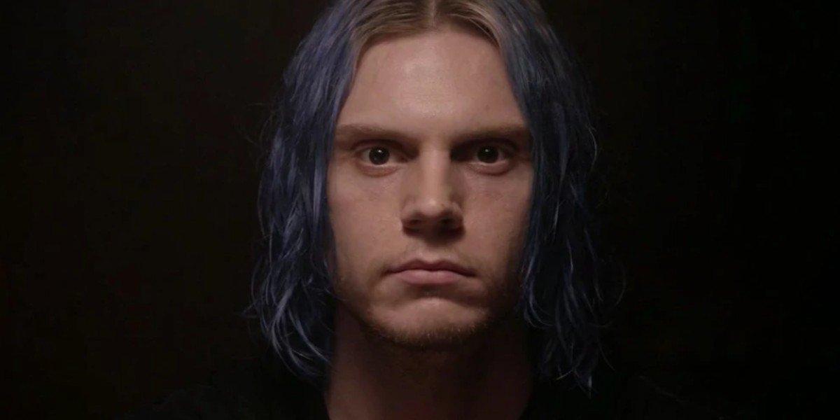 Evan Peters as Kai in American Horror Story