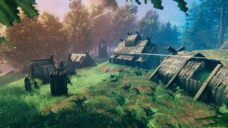 Valheim camp