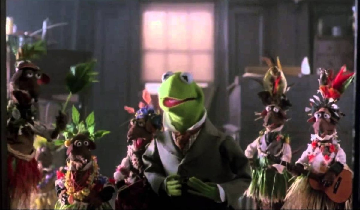 The Muppet Christmas Carol Kermit and his rat bookkeepers ask for more coal