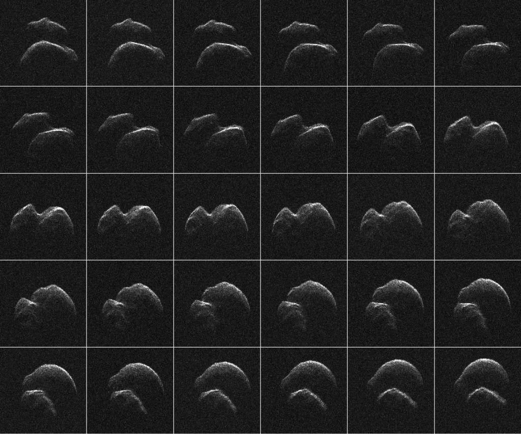 asteroid 2014 ttx - HD1024×853