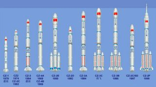 China Booster Rockets