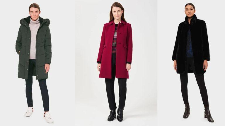 Hobbs winter coat collection
