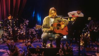 Nirvana perform at MTV Unplugged