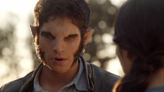 Tyler Posey as Scott on Teen Wolf.