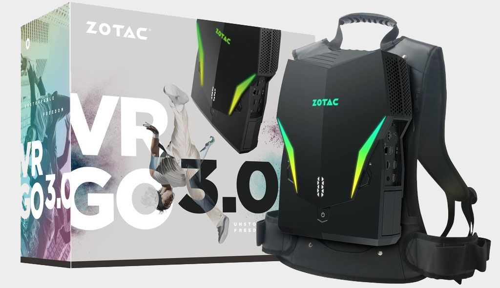 Zotac just upgraded its VR backback, but should have waited for new CPUs