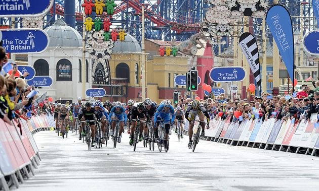 Blackpool, Tour of Britain 2010, stage one