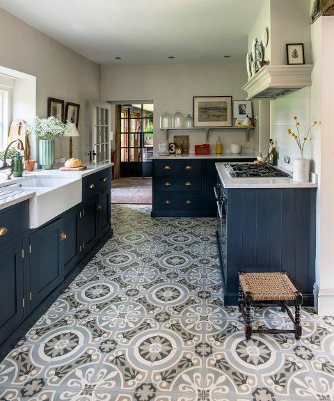 Kitchen Floor Tile Ideas 14 Durable