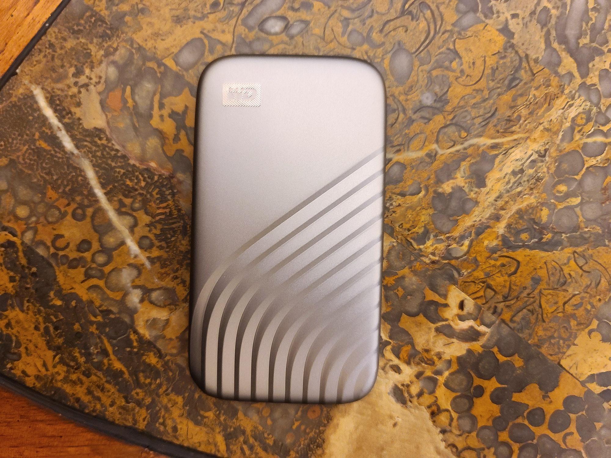 Best external hard drives: WD My Passport SSD (1TB)