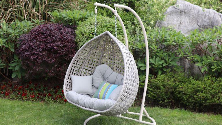 Egg Chair, Luxury Rattan