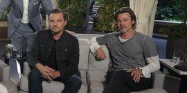 Brad Pitt And Leonardo DiCaprio Remind Everyone They Were On The Same TV Show