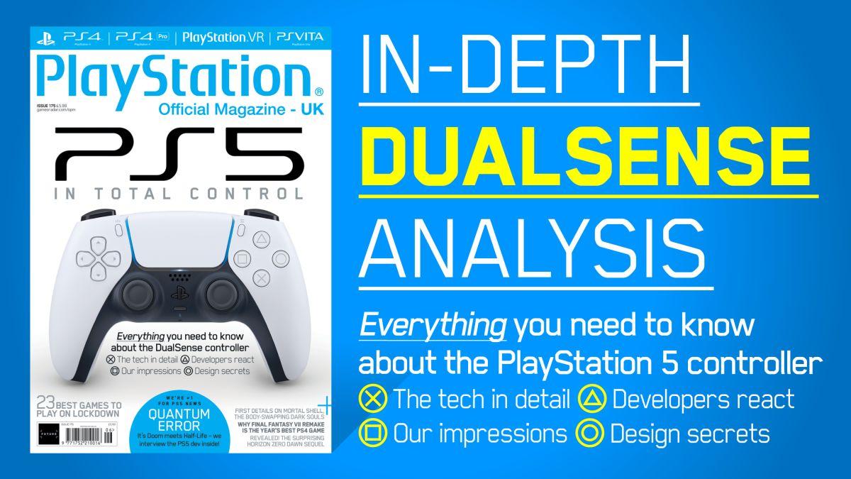 Dualsense The Tech Dev Reactions And Design Secrets Revealed In Official Playstation Magazine 175 Gamesradar