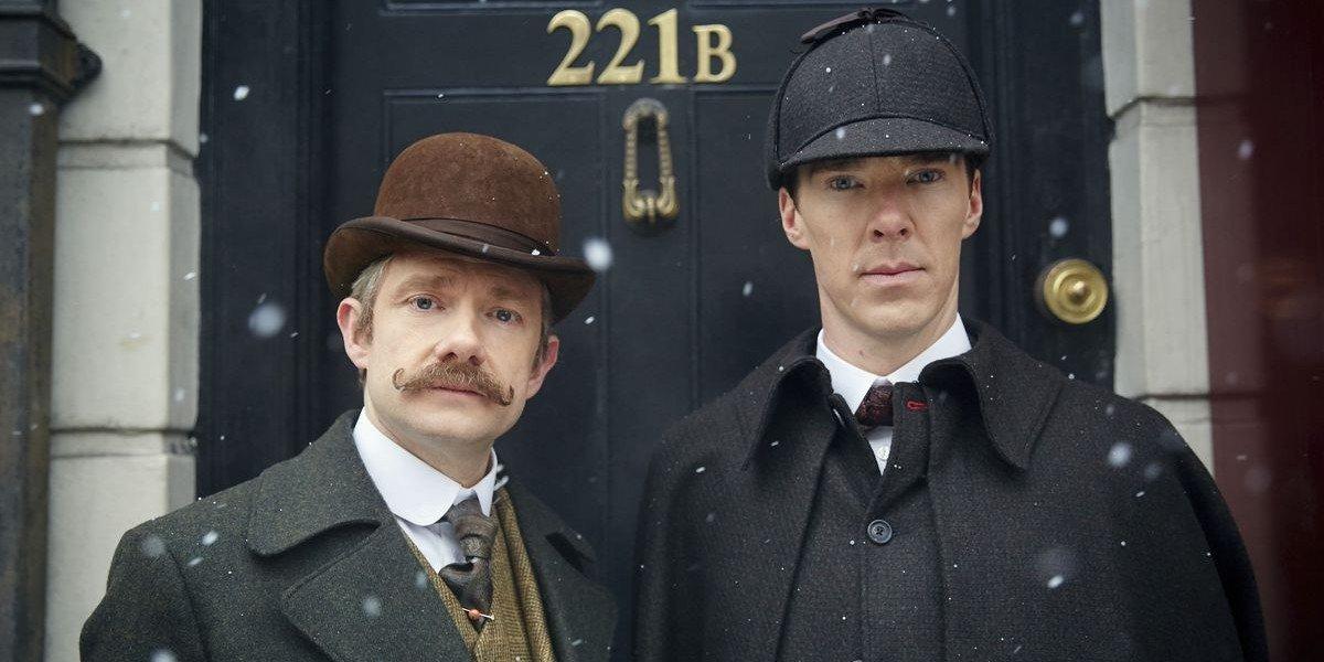 Martin Freeman, Benedict Cumberbatch - Sherlock