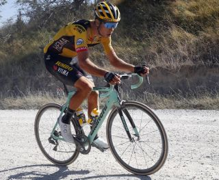 Wout Van Aert on his Bianchi Oltre XR4
