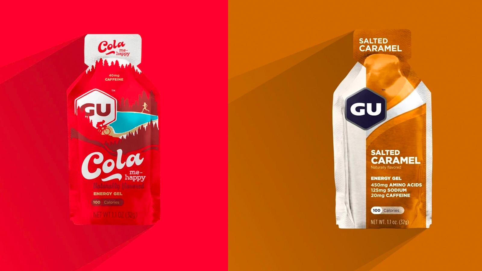 Best cycling nutrition: GU energy gels