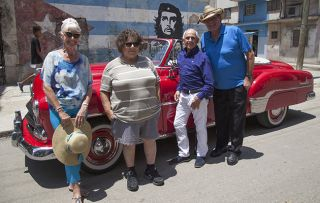 Being a pensioner in Cuba looks like a blast and, this week, we see Miriam Margolye, Bobby George, Wayne Sleep and Jan Leeming check out the all-dancing, partying city of Havana.