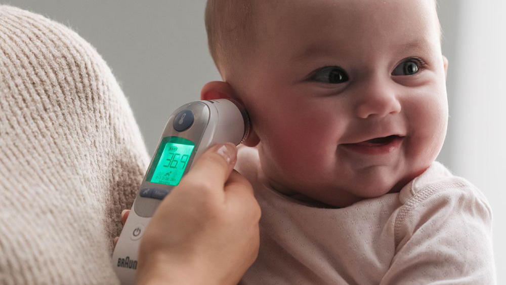 Braun ThermoScan 3 Ear Thermometer For Child//adult//baby New
