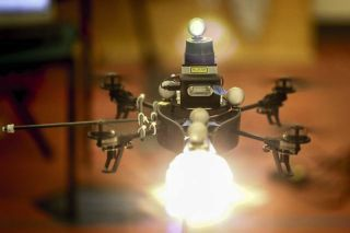 Drone Could Help Create Lighting Effects