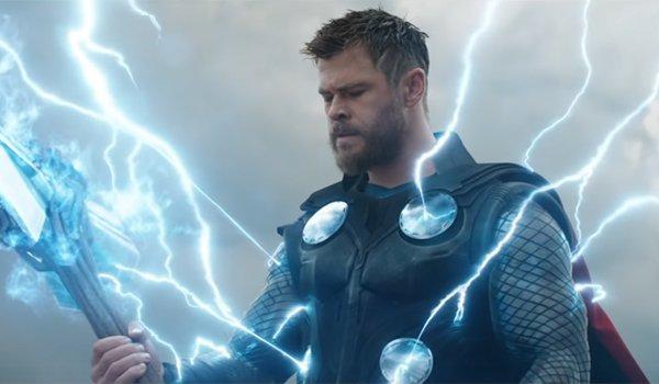 Chris Hemsworth as Thor in Avengers: Endgame