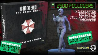 A new Resident Evil 3 board game challenges you to survive Raccoon City