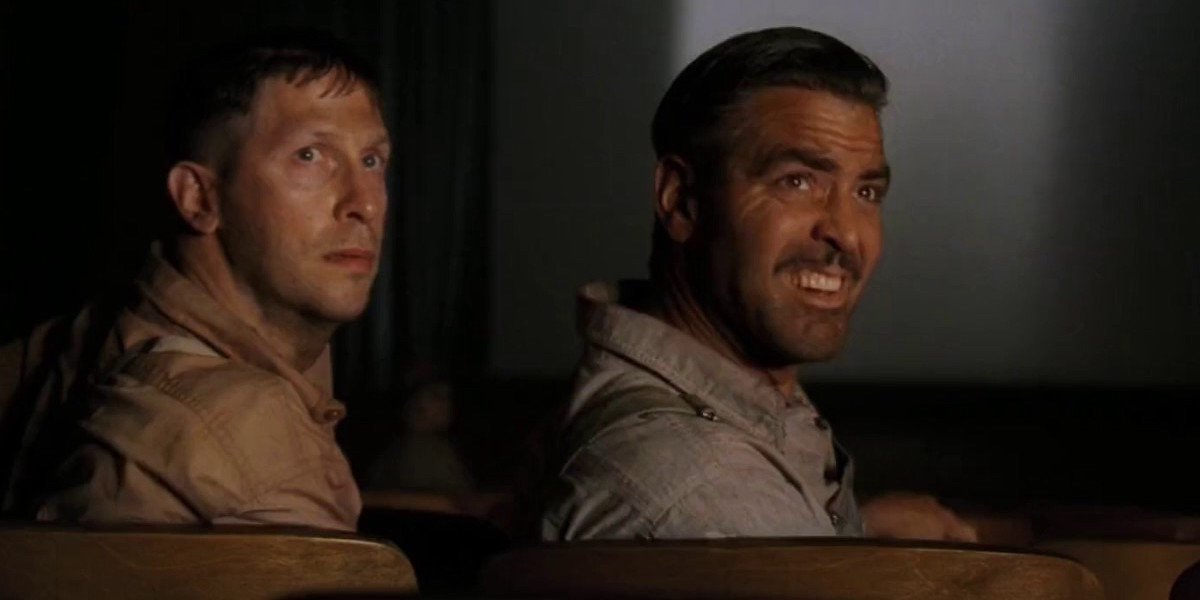 Tim Blake Nelson and George Clooney in O Brother, Where Art Thou?